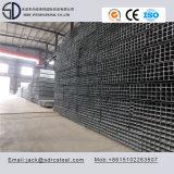 Ss400 Galvanizado en caliente de tubo de acero cuadrado de soporte de acero
