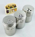 стеклянная бутылка специи пользы гостиницы бутылок соли 100ml и перца