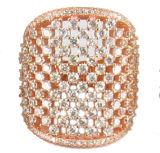 2015 형식 보석 준보석 돌 925 순은 반지 도매 R10538
