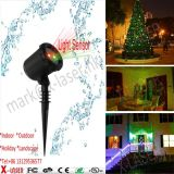 별 가정 축제 Christmast는 빨간 녹색 Laser 옥외 레이저 광을 초래한다