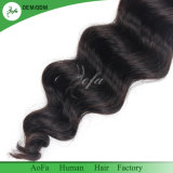 倍によって引出される自然なブラジルの人間のRemyの人間の毛髪のよこ糸