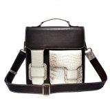 最も新しいデザイン小型の本物のワニの皮の革ハンドバッグのショルダー・バッグ