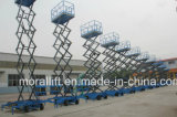 10m che alzano l'elevatore mobile elettrico idraulico di scisor di altezza