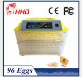 Hhd che tiene l'incubatrice automatica Ew-96 dell'uovo del pollo delle 96 uova