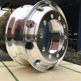 22.5X8.25 285.75PCD Aluminiumlegierung-LKW-Felgen-Rad