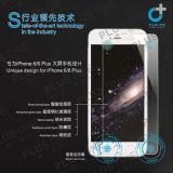 더하기 iPhone 6/iPhone 6을%s 3D에 의하여 구부려지는 이동 전화 부속품 강화 유리 스크린 프로텍터