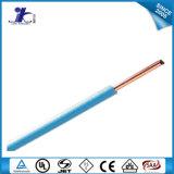 Le PVC a isolé le câblage cuivre et le câble bidon UL1007 pour le câblage interne d'usage universel de l'appareillage électrique électronique et