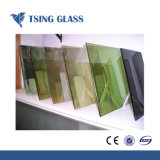 4mm-6mm recubierto de cristal reflectante y vidrio utilizado para la construcción