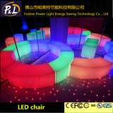 PE de la serpiente de luz LED de heces Muebles para bares