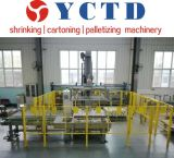De semi Automatische het Palletiseren Machine voor sprankelend drinkt het Water van de Drank (YCMD30L)