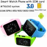 Montre intelligente colorée de téléphone mobile avec la fente de carte SIM (G11)