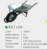 Brasil Wheelbarrow galvanizado