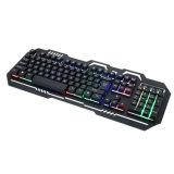 Стильный дизайн три цвета LED поддельные Mechanica игровой клавиатуры (КБ-17)