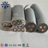 L'alto livello 3kv 5 il chilovolt EPDM ha isolato i conduttori di rame corazzati con la pompa di olio sommergibile d'acciaio galvanizzata del cavo elettrico di resistenza di olio della striscia specialmente 3*10mm2 3*16mm2