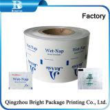Qualitäts-Aluminium lamellierte Film für verpackenspiritus-Vorbereitungs-Auflage