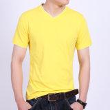 中国の製造業者の卸売の人の黒いTシャツの方法Tシャツデザイン