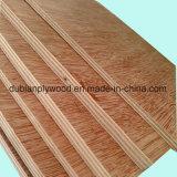 Bintangor/Okoume enfrentou a madeira compensada comercial para o material de construção