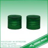 24/410 grüne PlastikFilp Spitzenschutzkappe pp.-für Haustier-Flasche
