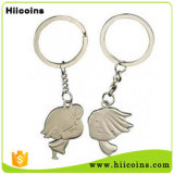 Металл Keychain оптовой продажи ключевой цепи сразу продавать фабрики и таможня Keychain
