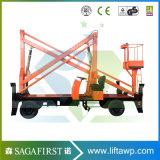 6 м до 13,8 м смонтированные на грузовиках работы антенны неба высокого подъема домкрат подъема