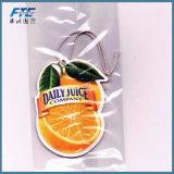 Bevanda rinfrescante di aria dell'automobile di figura della frutta con l'imballaggio del sacchetto di OPP
