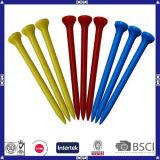 T de golfe colorido barato colorido personalizado