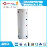 Presurizada activo Seperated pipa de calor del calentador solar de agua populares
