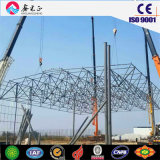 Steel Structure Building for Concrete Mixing Station