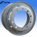Стальные оправы колеса для тяжелой тележки (8.00V-20)