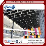 Endurecer el azulejo acústico afilado del techo de las lanas de cristal