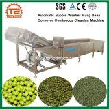 Anilha de bolha de ar automático contínuo do Transportador de feijão-da-china máquina de limpeza