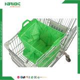 Supermarkt-Einkaufen-Laufkatze-Einkaufentote-Beutel
