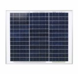 Poly panneau solaire 30W pour charger la batterie 12V