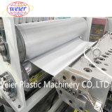 플라스틱 PVC UPVC는 밀어남 기계를 만드는 지붕 장 파 기와를 주름을 잡았다
