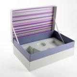 Blue Maquillage Set boîte cadeau avec le blanc EVA Insérer