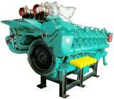 Moteur marin diesel diesel 1500kw avec boîte à engrenages