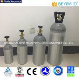 Prix le plus bas en aluminium de haute pression Portable petite bouteille de CO2