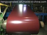 PPGIはカラーによって波形を付けられたシートのための電流を通された鋼鉄コイルをPrepainted