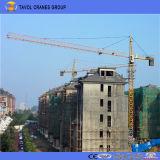 Des China-10t Kranbalken Turmkran-60m mit Turmkran der Spitze-1.5t der Eingabe-Qtz125-6015