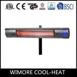 Aquecedor de infravermelhos impermeável para pátio para aquecedor de espaços abertos