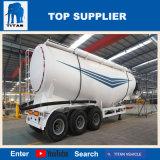 Drievoudige As 40 van de titaan Cbm de BulkAanhangwagen van de Vrachtwagen van de Silo van het Cement