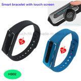 Sonno di salute che riflette braccialetto astuto con la frequenza cardiaca Hb02