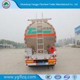 熱い販売オイルのディーゼル燃料の記憶の輸送のトラック半アルミニウムタンクトレーラー