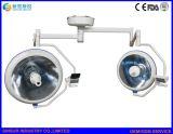 병원 장비 Shadowless 할로겐 두 배 헤드 천장 외과 운영 빛