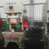 Jh21 máquina aluída da imprensa de perfurador mecânico do frame da série C única com uma potência de 125 toneladas