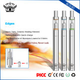 cigarettes électroniques de crayon lecteur de Vape E de la bobine 290mAh d'atomiseur de crayon lecteur en verre en céramique de vaporisateur