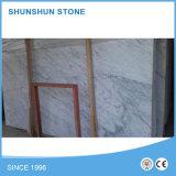 Piedra de mármol blanca al por mayor de Volkas natural para la pared y el piso