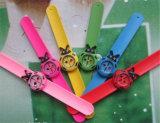 Yxl-870 남녀 공통 아이들 아이 귀여운 만화 호랑이 철석 때림 스냅 구부릴 수 있는 고무 석영 손목 시계