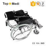 Topmedi 호화로운 Foldable 강철 수동 휠체어