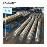 Cilindro hidráulico de acero plateado cromo modificado para requisitos particulares de Rod de pistón del cilindro hidráulico